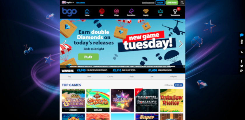 BGO Casino UK Review