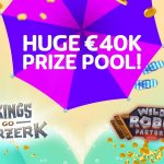 400 Cash Prizes at PlayOJO's £40k Prize Pool